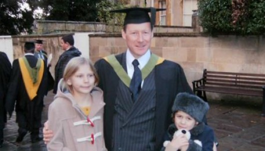 Martin graduates from the University of Bath